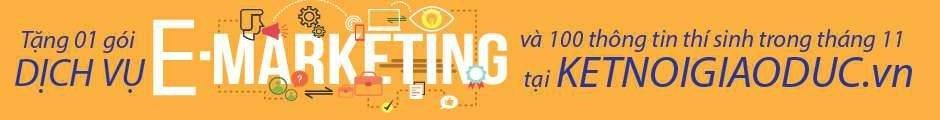 E-marketing và Tìm thông tin thí sinh
