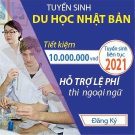 Hỗ trợ Du học Nhật Bản 2021 tốt nhất