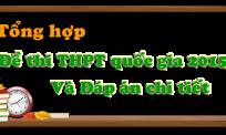 Đề thi - Đáp án thi THPT và ĐH-CĐ