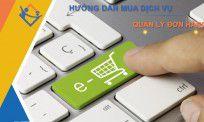 Hướng dẫn mua dịch vụ và quản lý đơn hàng