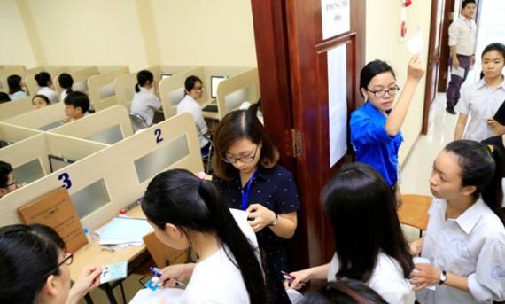 Hướng dẫn học sinh lớp 12 đăng ký tài khoản thành viên và nguyện vọng tuyển sinh 2018