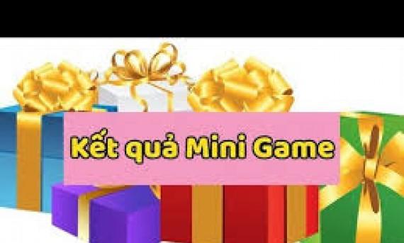 Thông báo kết quả Minigame