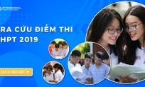 Tra Cứu điểm thi Quốc gia THPT 2019