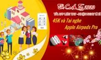 Tặng ngay 45K và tai nghe Apple Airpods Pro khi cài đặt App Tuyển sinh