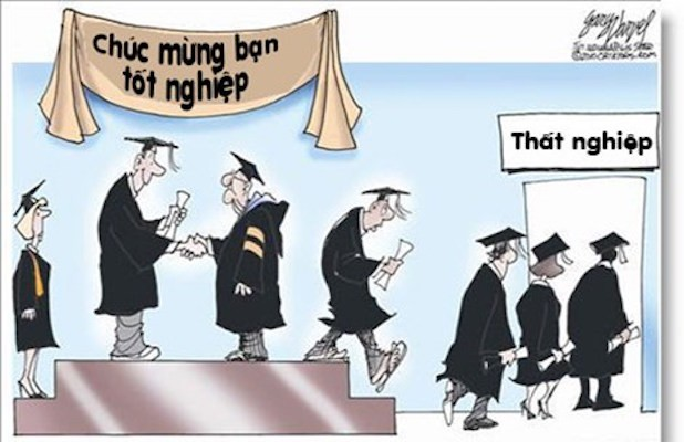 Thất nghiệp là hậu quả khi không hướng nghiệp