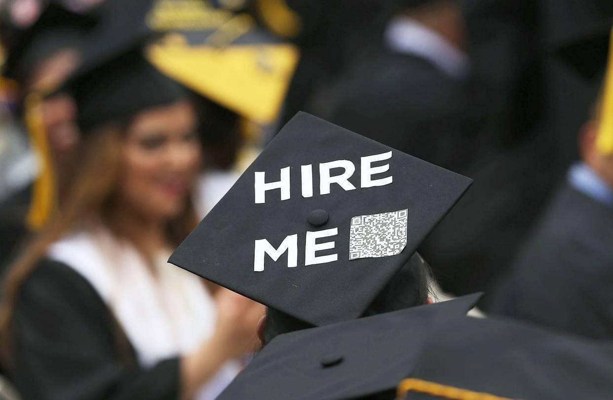 Tỉ lệ sinh viên tốt nghiệp đại học thất nghiệp đang tăng cao